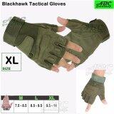 ขาย Abc Blackhawk ถุงมือมอเตอร์ไซค์ Tactical ถุงมือครึ่งนิ้ว ถุงมือหนัง เรโทร ถุงมือทหาร ถุงมือยิงปืน กันกระแทก ระบายอากาศ สีดำ สีเขียวทหาร M L Xl ออนไลน์ กรุงเทพมหานคร