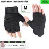 ซื้อ Abc Blackhawk ถุงมือมอเตอร์ไซค์ Tactical ถุงมือครึ่งนิ้ว ถุงมือหนัง เรโทร ถุงมือทหาร ถุงมือยิงปืน กันกระแทก ระบายอากาศ สีดำ สีเขียวทหาร M L Xl Blackhawk เป็นต้นฉบับ