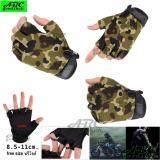 ซื้อ Abc ถุงมือครึ่งนิ้ว มอเตอร์ไซค์ ยิงปืน ทหาร ยุทธศาสตร์ Tactical Gloves กิจกรรมกลางแจ้ง กันลื่น ยืดหยุ่นสูง ระบายอากาศดี ฟรีไซส์ ใช้ได้ทั้งชายและหญิง สีดำ สีเขียว สีเขียวลายพราง กรุงเทพมหานคร