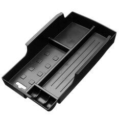 Abs Auto Cover Front Seat Central Armrest Storage Box Container Sticker Tirm For Toyota/camry 2012 2013 2014 2015 - Intl.
