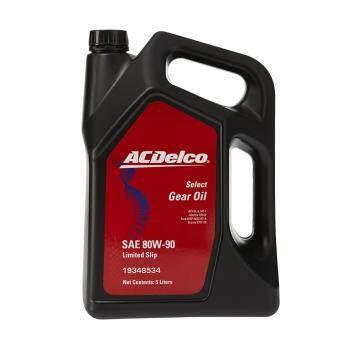 ACDelco น้ำมันเกียร์LSD API GL-5 80W90 (19334677) 5Lt