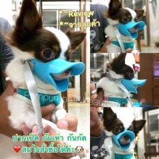 ขาย Aduck ปากเป็ด ที่ครอบปากสุนัข กันเลีย กันเห่า กันกัด Size S สีฟ้า Aduck ใน กรุงเทพมหานคร