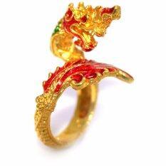 ขาย แหวนฟรีไซส์พญานาค ดวงตาโกเมนชุบทอง รุ่น Tk 144 ออนไลน์ ใน กรุงเทพมหานคร