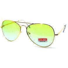 ราคา แว่นกันแดดแฟชั่น ทรง Aviator กรอบทองเลนส์สีฟ้าสวย รุ่น Rb3015 Cheappyshop เป็นต้นฉบับ