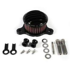 ราคา Air Cleaner Intake Filter System Kit For Harley Sportster Xl883 Xl1200 2004 2015 Black Intl เป็นต้นฉบับ