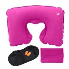 ขาย Airline Travel Kit 3 In 1 Set U Shape Pillow Outdoor Inflatable Travel Pillow Tourist Gems Intl Unbranded Generic ผู้ค้าส่ง