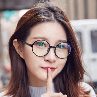แว่นสายตา วินเทจ ทรงกลมสไตล์เกาหลี