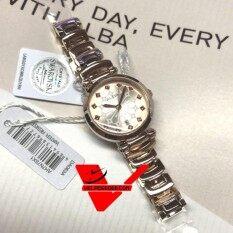ราคา Alba Crystal Swarovski ตัวเรือนและสายนาฬิกา สีพิงค์โกลด์ Pink Gold รุ่น รุ่น Ah7N78X1 ที่สุด