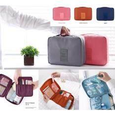 ราคา All About Traveler S กระเป๋าเครื่องสำอาง จัดระเบียบ สีเทา ใหม่ล่าสุด