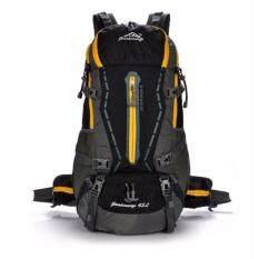 โปรโมชั่น All Around กระเป๋า Backpack รุ่น Nylon Hiking Waterproof 45L สี ดำ