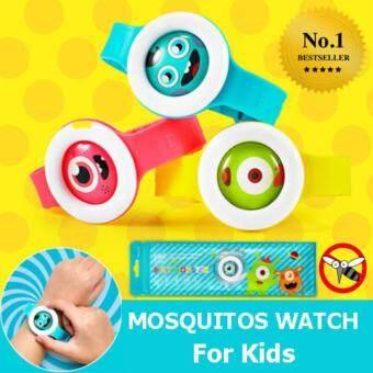 All Goods Shop สายข้อมือกันยุงและกันแมลง ปลอดภัยไร้สารเคมี สำหรับเด็ก แพ็ค 2 ชิ้น – Bikit Monster Anti-Mosquito Watch (Pack of two)