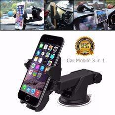 ทบทวน ที่จับโทรศัพท์มือถือ All In Oneในรถยนต์ ติดกระจก คอนโซลรถ ช่องแอร์ จำนวน1ชุด K Rubber