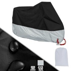 All Size Motorcycle Cover Waterproof Outdoor Uv Protector Bike Rain Dustproof Motorbike Motor Scooter M L Xl Xxl 3Xl 4Xl A2123 Black Red 2Xl Intl เป็นต้นฉบับ