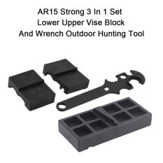 ราคา ราคาถูกที่สุด Allwin Ar15 Strong 3 In 1 Set Lower Upper Vise Block And Wrench Outdoor Hunting Tool Black Intl