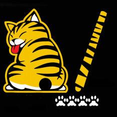 ขาย Allwin ขยับหางแมวตลกการ์ตูนสติกเกอร์ติดกระจกสติ๊กเกอร์พาหนะทรงปัด ออนไลน์ ใน จีน