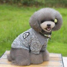 Allwin สไตล์เกาหลีสัตว์เลี้ยงสุนัขเสื้อกันหนาวแมวเสื้อขนแกะ 2 ขากางเกงเสื้อกันหนาว Xx - นานาชาติ By Allwin2015.