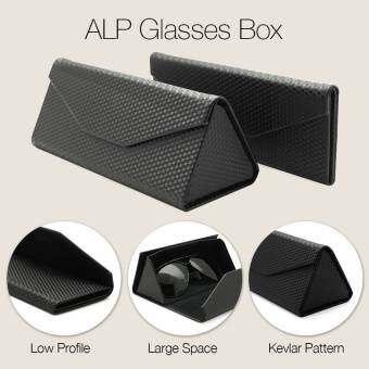 ALP Glasses Box กล่องใส่แว่นพับได้ รุ่น ALP-B002-BK (Black)