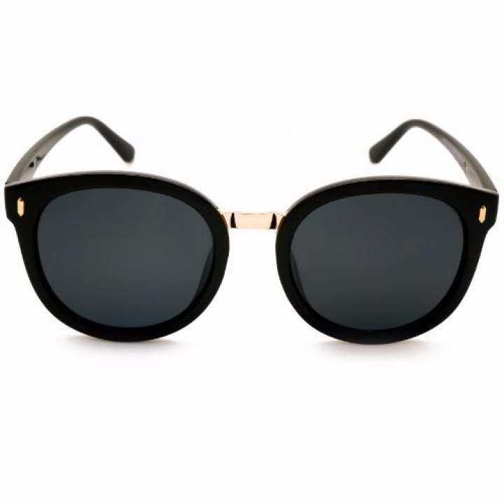 fdfa83232f4 ALP Polarized Sunglasses แว่นกันแดด Round Oversized Style รุ่น ALP-0057-BKS- BKP