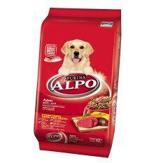 ขาย Alpo อาหารสุนัขโต รสเนื้อวัวและผัก ขนาด 10 กก Alpo ถูก