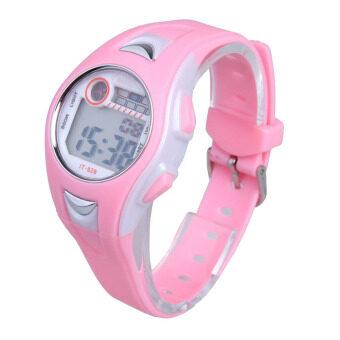 Amart 30เมตรกันน้ำนาฬิกาข้อมือแฟชั่นกีฬาว่ายน้ำของเด็กเวลาที่นาฬิกานาฬิกา (สีชมพู)