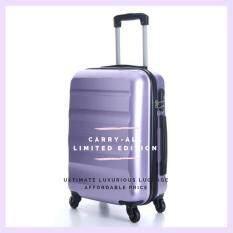 โปรโมชั่น Ambassador Luggage กระเป๋าเดินทาง รุ่น Carry On Series ขนาด 20 สีม่วง Ambassador