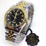 ส่วนลด America Eagle นาฬิกาข้อมือบุรุษ เพชร สีดำ สายสแตนเลส รุ่น3613G America Eagle ใน Thailand
