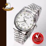 ส่วนลด สินค้า America Eagle นาฬิกาข้อมือสุภาพบุรุษ สายสแตนเลส รุ่น Ae001G Silver