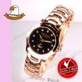 ส่วนลด America Eagle นาฬิกาข้อมือผู้หญิง สายสแตนเลส รุ่น Ae002L Pinkgold กรุงเทพมหานคร