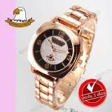ราคา America Eagle นาฬิกาข้อมือผู้หญิง สายสแตนเลส รุ่น Ae003L Pink Gold Black America Eagle เป็นต้นฉบับ