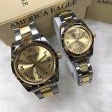 ส่วนลด America Eagle Ae006 นาฬิกาแฟชั่นคู่ ใบรับประกันสินค้าจากศูนย์ พร้อมกล่อง America Eagle กรุงเทพมหานคร