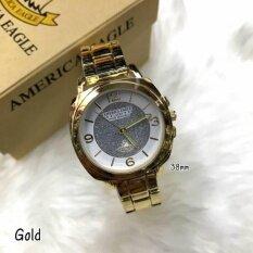 ซื้อ America Eagle Ae036 นาฬิกาแฟชั่น ใบรับประกันสินค้าจากศูนย์ พร้อมกล่อง