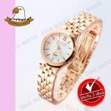 ราคา America Eagle นาฬิกาข้อมือผู้หญิง สายสแตนเลส รุ่น Ae021L Pink Gold เป็นต้นฉบับ America Eagle