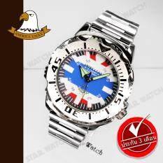 ความคิดเห็น America Eagle นาฬิกาข้อมือสุภาพบุรุษ สายสแตนเลส รุ่น Ae3355G Thailand