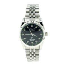 ขาย America Eagle นาฬิกาข้อมือผู้ชาย สายสแตนเลส หน้าปัดสีดำล้อมเพชร รุ่น Lucky 215G ผู้ค้าส่ง