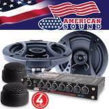 ซื้อ American Sound ปรีแอมป์ ปรีแอมป์รถยนต์ ปรีแอมป์ติดรถยนต์ ปรี4แบนด์ ปรี4Band Ams Asp452 ลำโพงแกนร่วม ลำโพงรถยนต์ ลำโพงติดรถยนต์ ลำโพงรวมชิ้น 6 5นิ้ว Ams 612C 1คู่ ลำโพงทวิตเตอร์ ทวิตเตอร์ American Sound