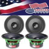 ทบทวน American Sound ลำโพงเสียงกลาง ลำโพง ลำโพงกลางโดด ลำโพงกลางล้วน Midrange Speaker Midrange ขนาด6 5 Ams 6Green 2คู่ American Sound