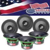ราคา American Sound ลำโพงเสียงกลาง ลำโพง ลำโพงกลางโดด ลำโพงกลางล้วน Midrange Speaker Midrange ขนาด6 5 Ams 6Green 3คู่ เป็นต้นฉบับ