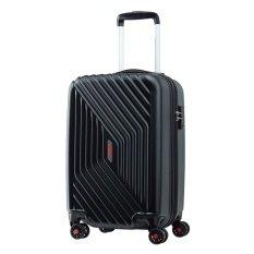 ขาย American Tourister กระเป๋าเดินทางรุ่น Air Force Spinner55 20 Tsa 20นิ้ว สี Galaxy Black ราคาถูกที่สุด