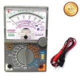 ซื้อ อนาล็อค มัลติมิเตอร์ Analog Multimeter Yx 360Tres H วัดกระแสไฟฟ้า วัดแรงดันไฟฟ้า วัดความต้านทาน วัดความต่อเนื่อง วัด Hfe ทรานซิสเตอร์ Forture