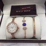 ส่วนลด นาฬิกาแฟชั่น Anne Klein An004 P P Fashion รับประกันสินค้าจากศูนย์ พร้อมกำไลภายในกล่อง