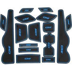 ซื้อ ป้องกันลื่น 16 ชิ้นรถประตูยางลาเท็กซ์ด้านใน Cushion พอดีสำหรับฮอนด้า Crv 2012 2013 นานาชาติ ใหม่ล่าสุด