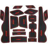 ขาย ป้องกันลื่น 16 ชิ้นรถประตูยางลาเท็กซ์ด้านใน Cushion พอดีสำหรับฮอนด้า Crv 2012 2013 นานาชาติ Unbranded Generic ผู้ค้าส่ง