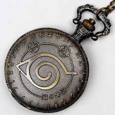 โปรโมชั่น โบราณ Retro Bronze เคลื่อนไหวนาฬิกาสร้อยคอจี้ของขวัญ สำหรับผู้ชายผู้หญิง อบเชย