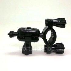 ขายึดกล้องติดรถยนต์ Anytek Q7 แบบเกลียว 4 มม มี 2 แกนหมุน แบบยึดกับก้านกระจกมองหลัง รถยนต์ ยึดแฮนด์ รถจักรยานยนต์ เป็นต้นฉบับ