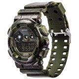 ขาย ซื้อ Aoyou Sport Wrist Watch Best Sell Digital Date Alarm Waterproof Camouflage Wrist Watch 4 Color For Men S Boy Intl ใน จีน