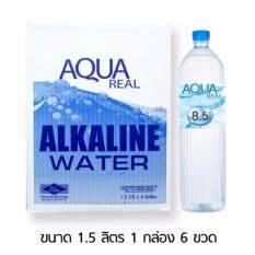 ขาย ซื้อ น้ำดื่ม Aqua Real ขนาด 1500 Ml 1 Box 6 Pcs