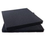 ทบทวน ที่สุด Aquarium Biochemical Black Fine Holes Filter Sponge Mat Fish Tank Purification Intl