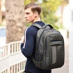 ส่วนลด Arctic Hunter Waterproof Laptop Backpack กระเป๋าเป้ สะพาย กันน้ำ รุ่น Ah 195 Gray