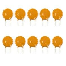 Areyourshop 40Pcs PTC Resettable Fuses Thermistor Polymer Self-Recovery Fuses 72V//3A