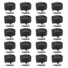 20Pcs TR5 Miniature Fuse Holder For 382//392 Series Solid State Fuse Cylindrical.